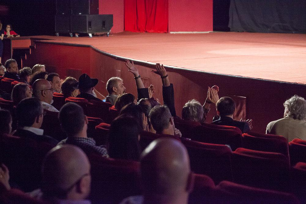 Фоторепортаж с открытия 3-го Московского Еврейского Международного кинофестиваля