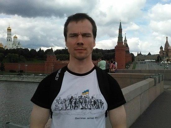 Дадина оштрафовали за чтение Конституции на Красной площади