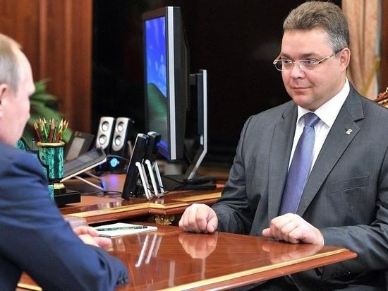 Телеканал «Звезда» «отправил в отставку» ставропольского губернатора после вопроса Путина