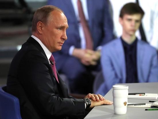 «Не суетиться»: Путин заявил, что не прощает обмана