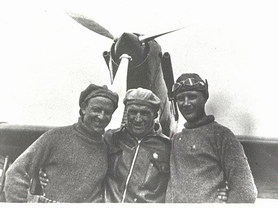 Бортовой журнал сохранил подробности знаменитой воздушной экспедиции