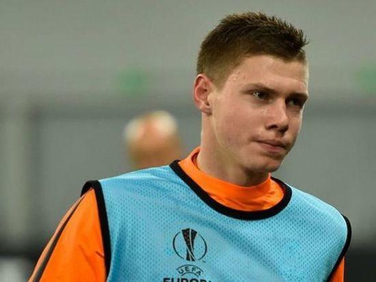 Украинский футболист