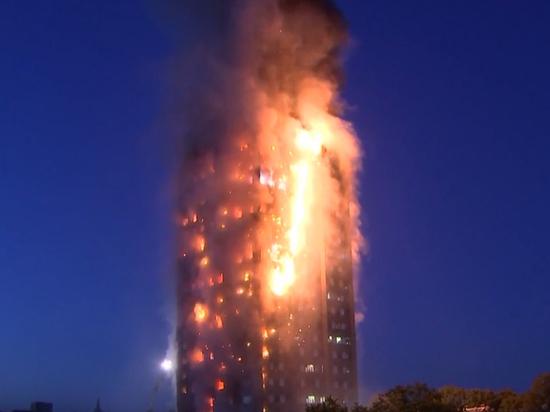 В сгоревшей многоэтажке установили дешевую неогнеупорную плитку