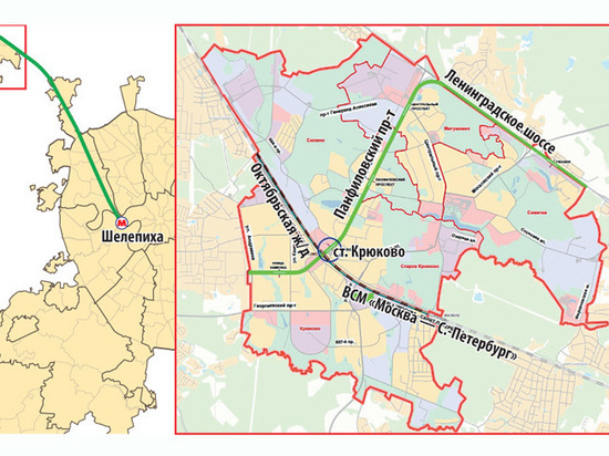 Метро в Зеленоград придет после 2035 года