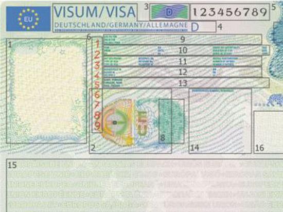 Шенгенская виза изменит свой вид