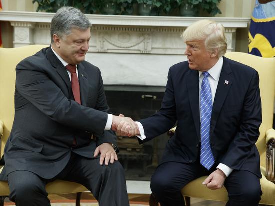 Порошенко поделился первыми впечатлениями от встречи с Трампом