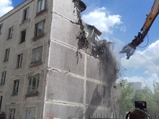 Всего по «старой программе» осталось снести 57 домов