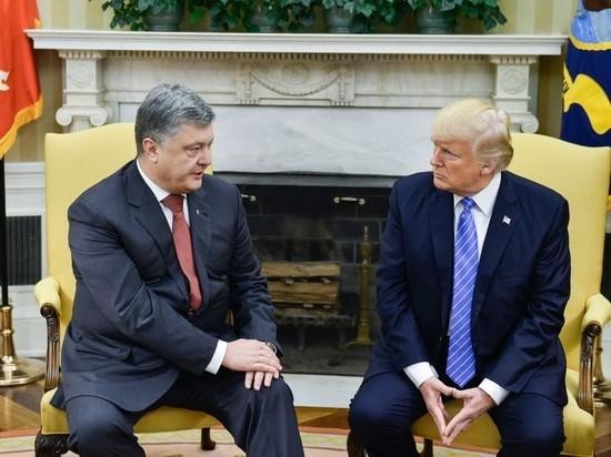 Украинский президент совершил странный визит в Вашингтон