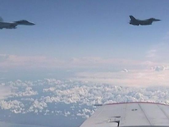 Истребитель F-16 провел попытку сближения с бортом министра обороны РФ над нейтральными водами Балтики