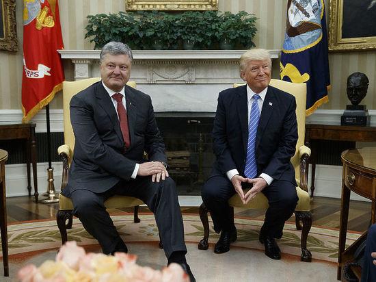 """Президент США назвал встречу в главой Украины """"большой честью"""", но красной дорожки перед ним не расстелил"""