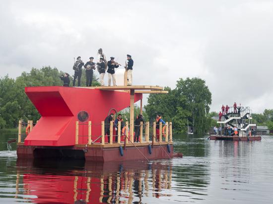 VII фестиваль современного искусства «Арт-Овраг» прошел в Выксе