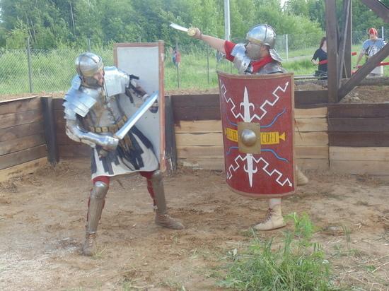 Возле Нижнего Новгорода появился лагерь римских легионеров