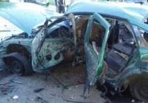 В Донецкой области взорвали автомобиль, в котором находились пять сотрудников Службы безопасности Украины