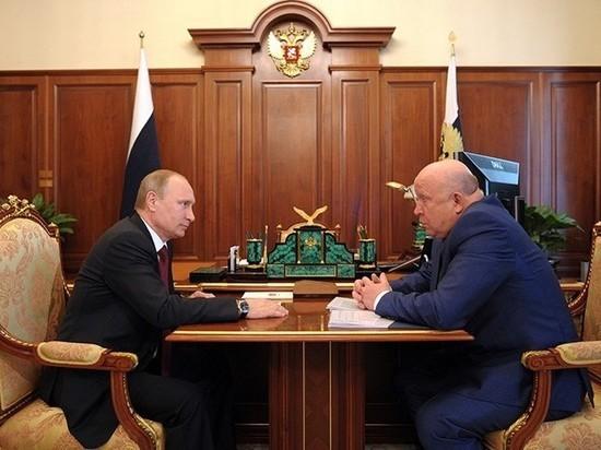 Путин поздравил нижегородского губернатора с юбилеем