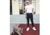 Егор Крид завел тигренка благодаря Виктории Боне
