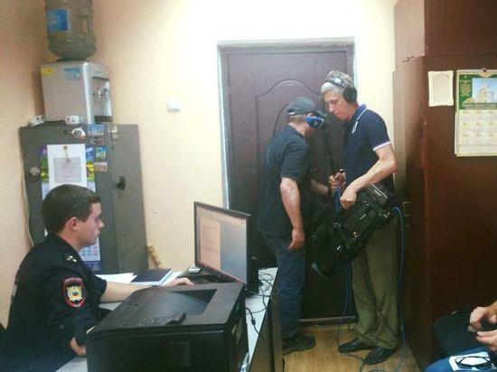 В Твери лжеволонтеров доставили в отделение полиции