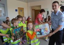 Дети детского сада «Вырастайка» города Серпухова сходили на увлекательную экскурсию по открывшемуся ровно год назад музею Серпуховской Госавтоинспекции