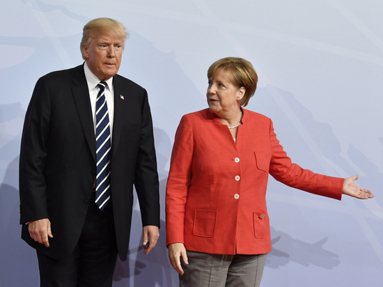 Трамп рассказал Меркель о судьбе Украины