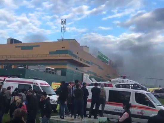 На ликвидацию возгорания брошено 48 пожарных расчетов