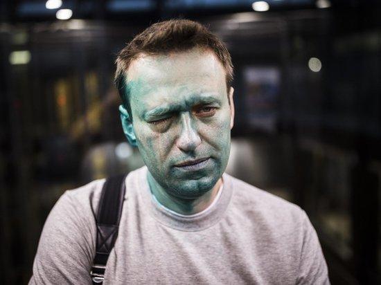 Навальный не нашел правоохранительной системы: полиция не узнала плеснувшего зеленкой
