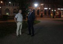 На площадях Советской и Жукова отремонтируют уличное освещение