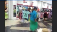 В Волгограде посетительница магазина исполнила зажигательный танец