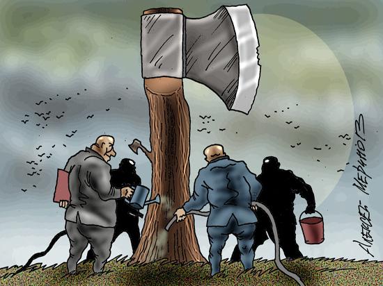 «Примчался вице-премьер Козак и пообещал «ужас без конца», если закон не будет принят немедленно»
