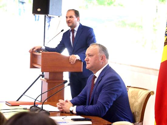 Игорь Додон: «Осенью я выдвину инициативу о запрете деятельности партий, выступающих против государственности Молдовы»