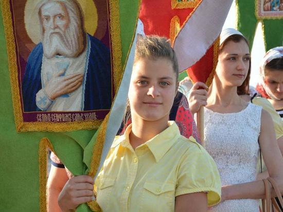 В День Крещения Руси ставропольцы совершили крестный ход до нового храма Святого князя Владимира