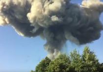 МВД Абхазии сообщило о двух погибших при взрыве на складе