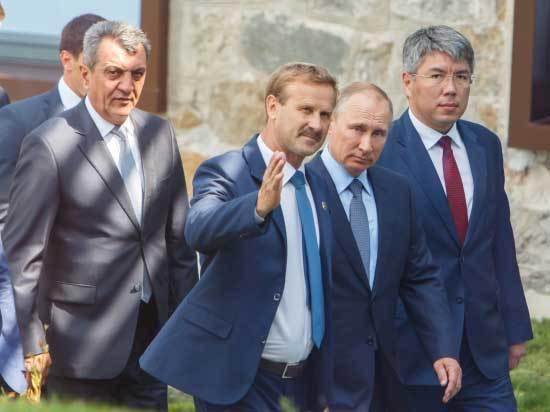 Путин в Бурятии: под грифом «секретно»