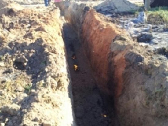 Пожар на газовой трубе произошел в жилом микрорайоне Калуги