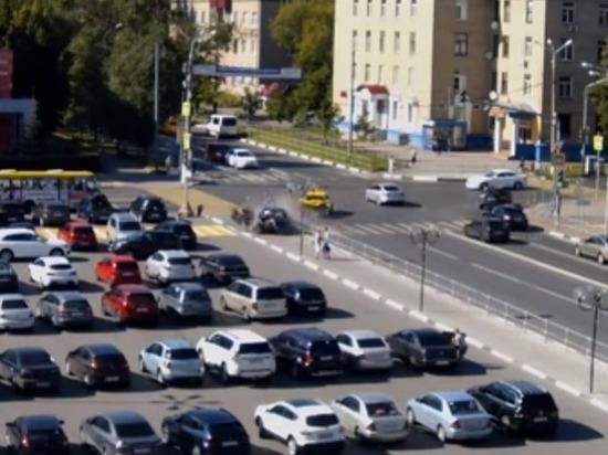 Появилось видео страшного ДТП с пешеходами в Мытищах
