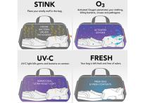 Заботиться о чистоте и свежести спортивной одежды после активной тренировки больше не придется занятым людям: им обеспечит все это специальная сумка, проект которой разработали в американской компании