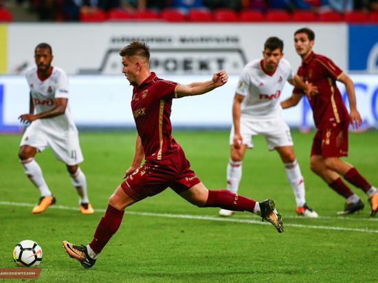 «Рубин» вдесятером едва не обыграл «Локомотив», упустив победу в добавленное время