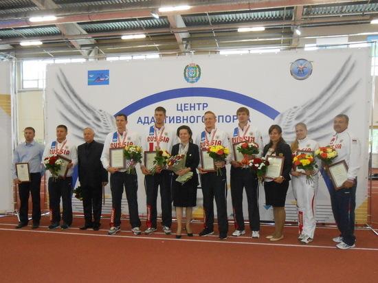 В Центре адаптивного спорта в Сургуте чествовали победителей Сурдлимпийских игр