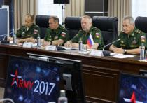 «Армата», подводные роботы и новейшие истребители: Шойгу открыл форум «Армия-2017»