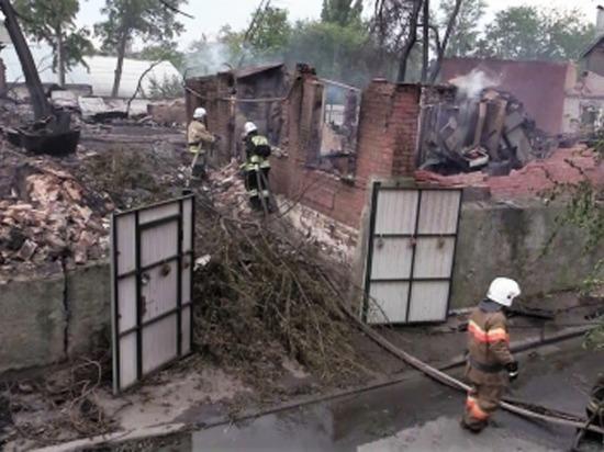Пожар в Ростове-на-Дону: за землю в городе боролись несколько застройщиков
