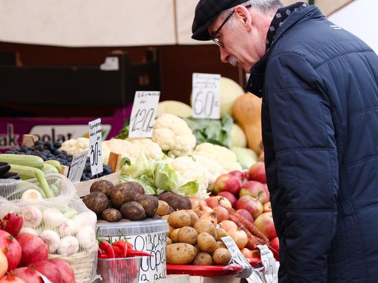В Минэкономразвития предсказывают снижение цен на плодоовощную продукцию в пять раз