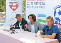 Барнаул посетили спортсмены мирового уровня