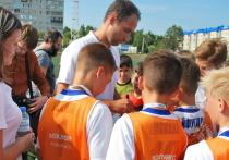 Футбол: Широков наградил Хохлова из команды Боброва