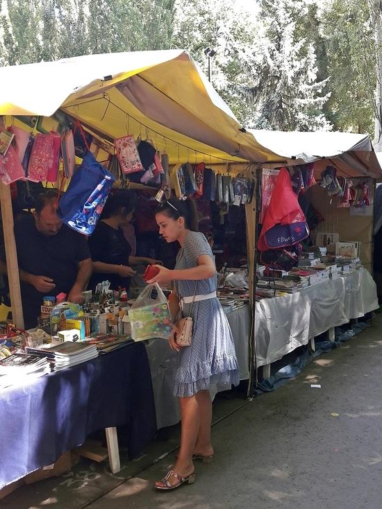 Школьный базар: крымский ценник испытывает на прочность кошелек родителей учеников