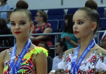 Первые медали ЧМ по художественной гимнастике принесли России сестры-близнецы Аверины