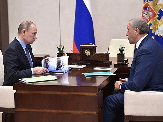 В Москве состоялась встреча Президента РФ Владимира Путина  и врио губернатора Валерия Радаева