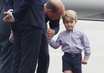 Почему британский принц Джордж пошел в школу без мамы