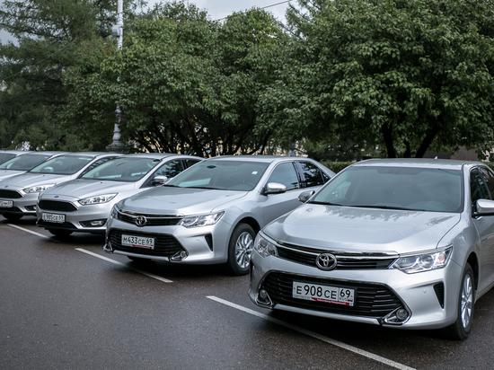 В Тверской области полиция получила новые автомобили
