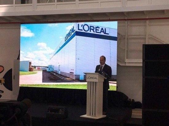 Французская L'Orеal инвестировала 2,5 млрд руб. в расширение завода в Калужской области