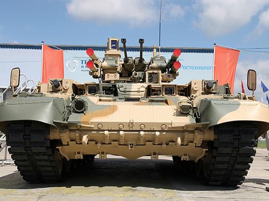 Боевая машина поддержки танков прошла проверку в боях против «Исламского государства»
