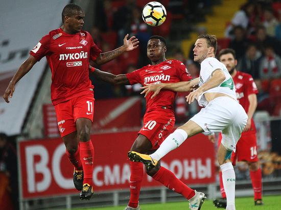 Красно-белые проведут первый матч в элитном турнире за последние пять лет