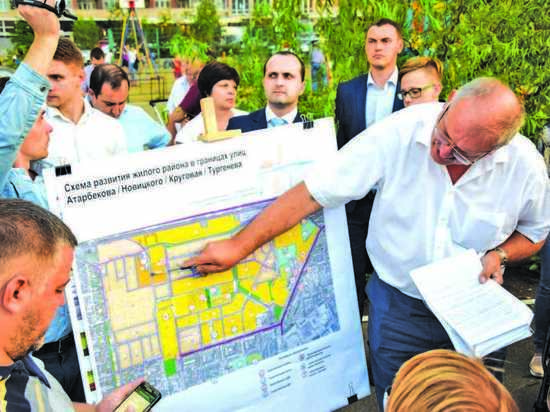 Жители Фестивального микрорайона  Краснодара потребовали от властей выполнения обязательств